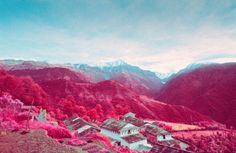 Infrared Photography of Nepal