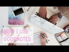 "Check out this wonderfully informational video about some of the awesome features of my favorite notetaking app GoodNotes ""How I Use Goodnotes"""