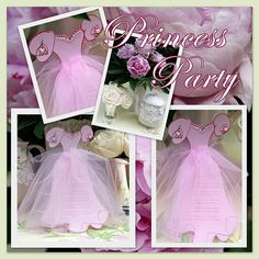 Princess Invitations from A Little Loveliness!