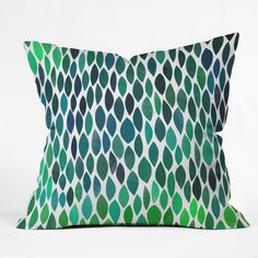 Garima Dhawan connections 2 Throw Pillow | DENY Designs Home Accessories