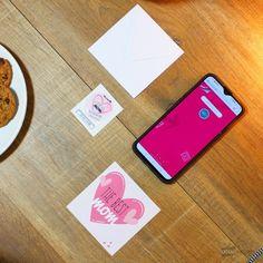 "Carte de Voeux Dématérialisée ""The Best Mom"" Messages, Greeting Card, Gift, Products, Text Posts, Text Conversations"