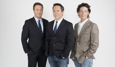 <3 The Original three Musketeers:  Andy Levy, Greg Gutfeld, and Bill Schulz.  In 2013;  Joanne Nosuchinsky joined the panel after Bill Schulz departure.