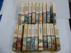 Wagons West by Dana F. Ross - Westerns Lot of 21 Used Books (No Dup's) - #L80