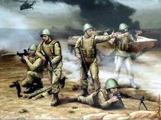 Soviet Motorised Infantry in Afghanistan, Soviet-Afghan War