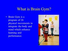 brain gym exercises - Google Search