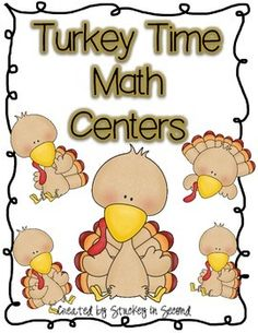 Eight TurkeyMath CentersThis math center packet includes:Gobble Gobble Doubles Turkey Fact Family SortTwo Digit Turkey AdditionTwo Digit Turkey SubtractionComparing Gobblers SortOdd Turkey/Even Tom SortFootball Score Place Value MatchTurkey Addition Fact Match