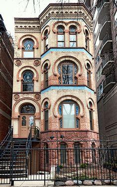 moorish design by architect Curd H. Gottig