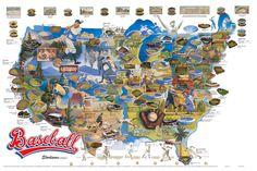 Baseball stadiums map. http://gislounge.com/baseball-maps-and-gis/?utm_source=feedburner_medium=twitter_campaign=Feed%3A+gislounge+%28GIS+Lounge%29#