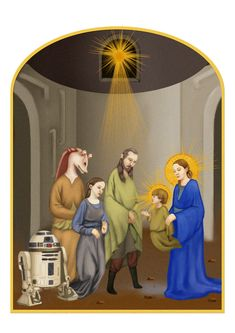 """Star Wars"" As Medieval Manuscripts  -The Choosen One by ~xearslll on deviantART"