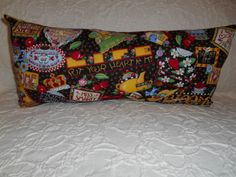 L16 1 Lumbar Travel or Neck  Novelty Pillow  by NoveltyPillows4All, $18.00