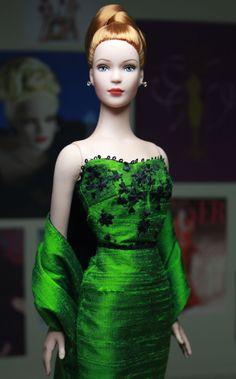 Tyler Celebrates St Patricks day ! - Cover Girl Tyler Wentworth wearing Shamrock gown & wrap. Tylers make up enhanced by Robert Tonner.