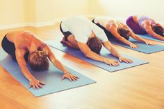 "How hot is a ""hot yoga"" class?  Decoding the Yoga Schedule: What to Expect from 9 Common Class Types"