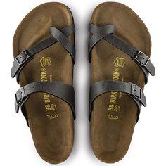 5d67a808d678 Mayari Birko-Flor Anthracite Toe Loop Sandals, Vans Outfit, Skin So Soft,