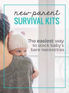 Be prepared for baby without all the guess work- new parent survival kits from weeSpring!
