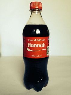 Coca Cola Share a Coke with Hannah... @hgredwine  @hannahmeimei  @playtrombone