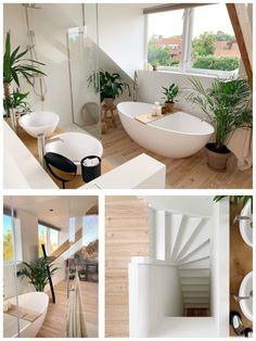 Today we have a LOOK AT Ilona! – Jellina Detmar Interieur & Styling bl …, look inside Modern Small Bathrooms, Dream Bathrooms, Bathroom Interior Design, Bathroom Inspiration, Cheap Home Decor, New Homes, House Design, Bathroom Trends, Pinterest Diy
