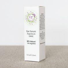 Custom printed box for CT Organics. Cosmetic Box, Cosmetic Design, Skincare Packaging, Cosmetic Packaging, Lipstick Box, Makeup Box, Eye Serum, Shadow Box, Lip Balm