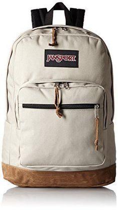 feab13835b JanSport Right Pack Laptop Backpack (Desert Beige)