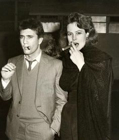 Sigourney Weaver and Mel Gibson