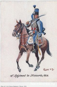 12e Regiment de Hussards 1802