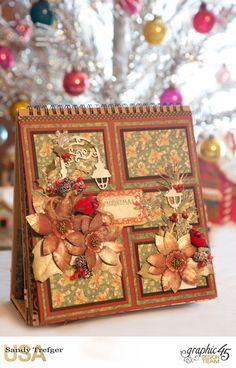 St Nicholas Easel Album, St Nicholas, by Sandy Trefger, Product by Graphic 45, Photo 005