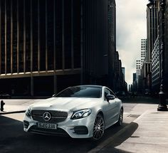 The new E-Class Coupé combines the beauty and classic virtues of a grand tourer with state-of-the-art technology. Mercedes E Class Coupe, Mercedes Car, Mercedes Benz Amg, My Dream Car, Dream Cars, New E Class, Amg Car, Best Luxury Cars, Hot Cars