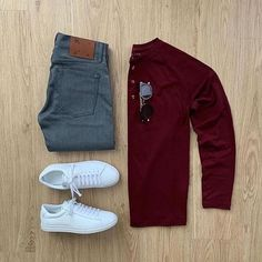 visit our website for the latest men's fashion trends products and tips . Outfits Casual, Stylish Mens Outfits, Komplette Outfits, Men Casual, Stylish Clothes, Casual Chic, Retro Mode, Mode Vintage, Mode Masculine