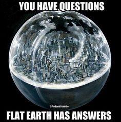 flat earth | Latest Flat Earth Memes #182