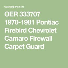 1967-68 Firebird Trans Am Camaro Steering Column Sponge Seal