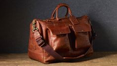 Will Leather Goods Leather Traveler Duffle #bag #men #accessories