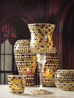 Candle Holders | Mosaic Glass Candle Holder, china Mosaic Glass Candle Holder ...
