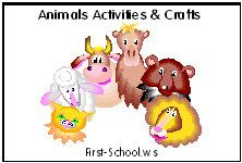 Free Animals printable lesson plans, printable activities and crafts for preschool, Kindergarten and early grades.