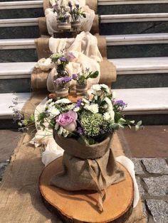 Wedding Aisle Decorations, Wedding Themes, Flower Decorations, Mauve Wedding, Diy Wedding, Rustic Wedding, Cinderella Decorations, Candy Bar Wedding, Small Intimate Wedding
