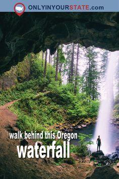 Travel | Oregon | Waterfall | Unique Finds | Hidden Gems | Natural Wonders | Activities