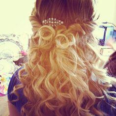 Prom hair! #prom #hair