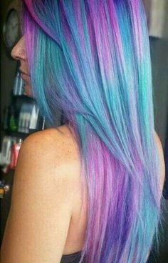 Best makeup colors for purple hair, Which pastel hair color is best for me. Purple Hair, Ombre Hair, Purple Ombre, Pink Blue, Pastel Purple, Bright Purple, Pastel Hair Colors, Turquoise Hair Ombre, Color Blue