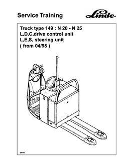 Linde Type 350 LPG Forklift Truck: H12, H16, H18, H20