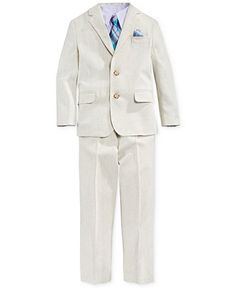 Linen suit-boy suit-ring barer | Boys, Boys suits and Products