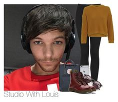 """""""Louis~#87"""" by laurenbeth15 ❤ liked on Polyvore featuring Topshop, Fjällräven, Wildfox, Dr. Martens and louistomlinson"""