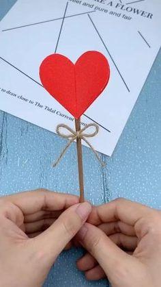 Diy Crafts Hacks, Diy Crafts For Gifts, Diy Crafts Videos, Fun Crafts, Summer Crafts, Creative Crafts, Decor Crafts, Paper Crafts Origami, Paper Crafts For Kids