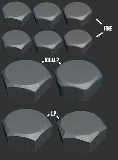 FAQ: Как у модели дем формы? Практические мини-Tuts для механической SUB-D АКА Добавить еще GEO - Страница 115 - Polycount форума