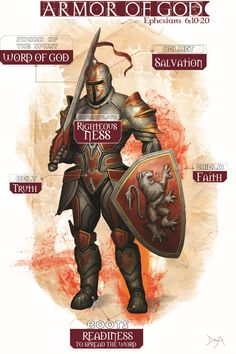 Armor of God...... Ephesians 6:10-20