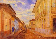 Rua São Bento (1858), 1918 ( na tela consta o ano 1917), aquarela 40x52 cm, acervo do Museu Paulista  http://sergiozeiger.tumblr.com/post/99082439173/jose-wasth-rodrigues-sao-paulo-19-de-marco-de