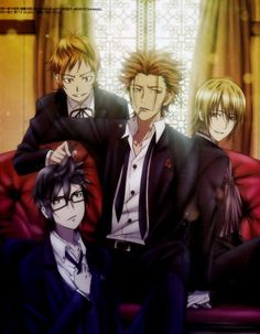 Imagem de anime and k project