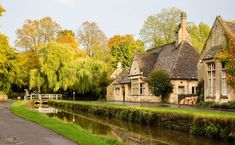 The Cotswolds, England (village of Lower Slaughter) End Of Summer, Train Rides, British Isles, Places Ive Been, Places To Visit, Vacation, Mansions, House Styles, Travel