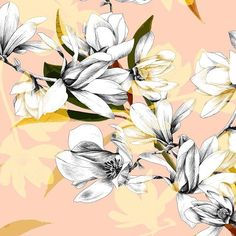 Working on #magnolia #flowers