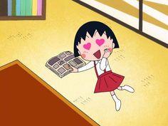 櫻桃小丸子 Chibi Maruko Chan Aaaah! I used to watch her when I was little! <3