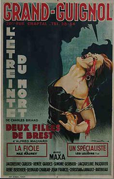grand guignol posters