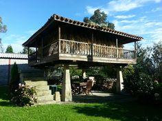 Horreo. Asturias. Spain