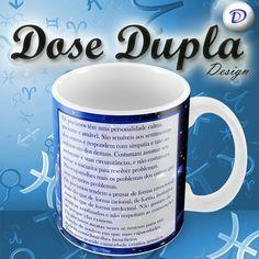 Mais uma super caneca Personalizada da Dose Dupla Design!!! Revele sua personalidade!!!